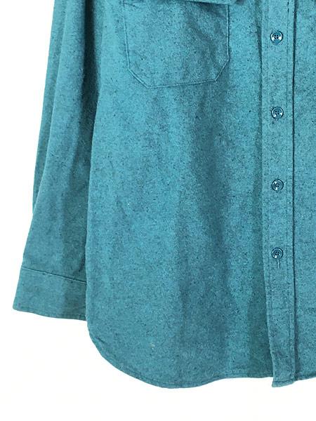 [5] 古着 90s USA製 LL Bean シャモアクロス フランネル シャツ ネルシャツ レアカラー!! 16 古着