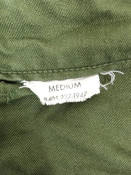 [7] 古着 60s 米軍 US ARMY 「初期」 コットンサテン ミリタリー ベイカー パンツ ストレート M 美品!! 古着