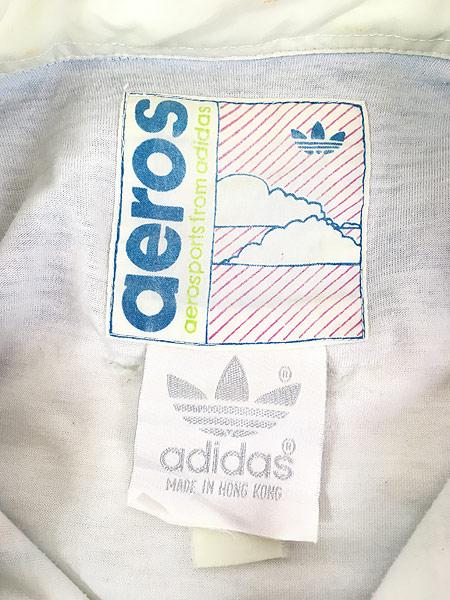 [8] 古着 90s adidas 「CALAMITY CLIFFS」 総柄 パデット プルオーバー ジャケット XXL位 古着