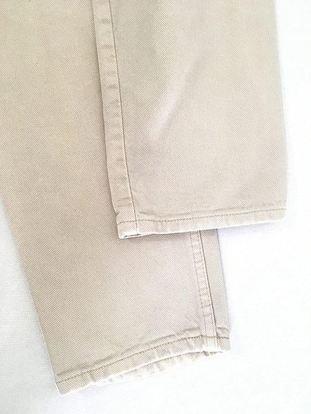 [5] 古着 90s USA製 Levi's 551 カラー デニム パンツ ジーンズ スーパーテーパード W30 L30 古着
