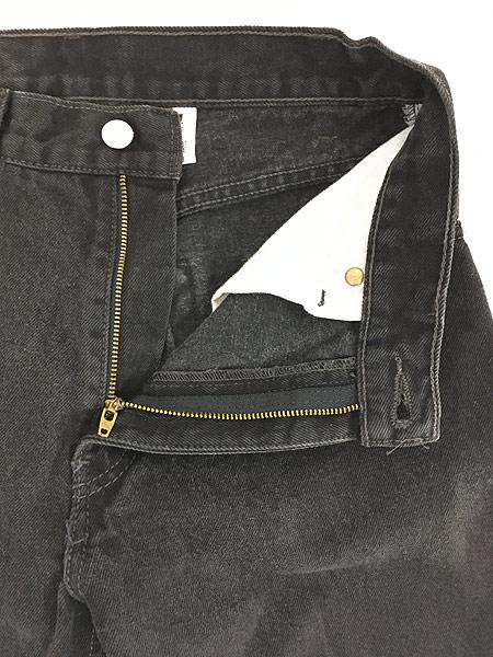 [6] 古着 00s Levi's 505 スーパー ブラック デニム パンツ ジーンズ スリム W30 L30 古着