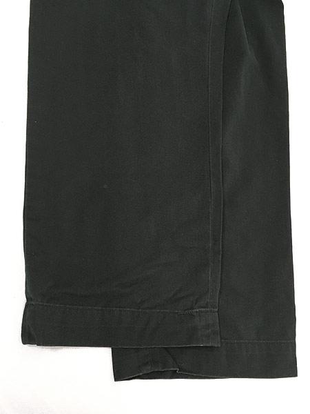 [5] 古着 POLO Ralph Lauren 「PROSPECT」 クラシック チノ パンツ チノパン ストレート 黒 W35 L29 古着