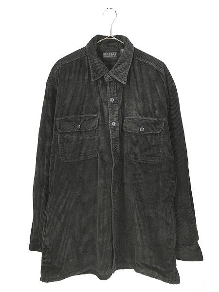 [1] 古着 90s BOGARI ブラック ベロア ベルベット ビッグサイズ ジャケット XL 古着