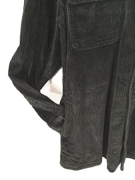 [3] 古着 90s BOGARI ブラック ベロア ベルベット ビッグサイズ ジャケット XL 古着