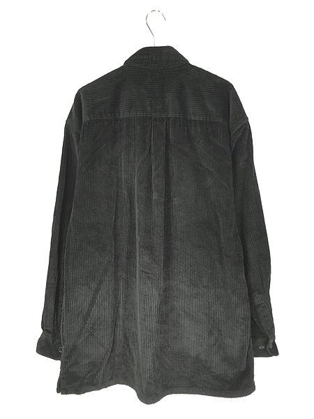 [4] 古着 90s BOGARI ブラック ベロア ベルベット ビッグサイズ ジャケット XL 古着