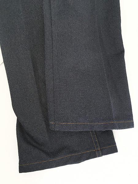 [5] 古着 80s USA製 Levi's 517 デニム ルック スラックス パンツ ブーツカット W34 L31 古着