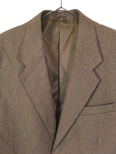 [2] 古着 70s Levi's STA-PREST 「Action Suit & Slacks」 スタプレ ジャケット & スラックス セットアップ 40L 古着