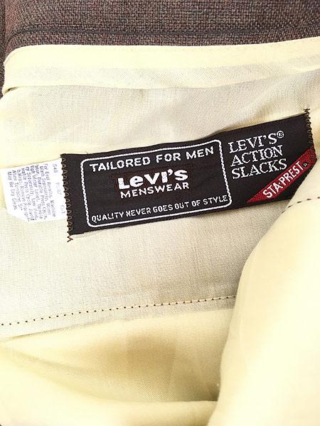 [9] 古着 70s Levi's STA-PREST 「Action Suit & Slacks」 スタプレ ジャケット & スラックス セットアップ 40L 古着