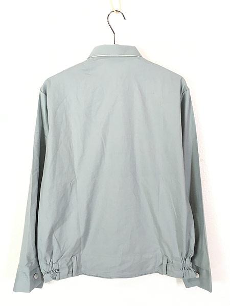 [4] 「Deadstock」 古着 80s 東ドイツ軍 NVA 人民海軍 ミリタリー グレー ドレス シャツ 40N 古着