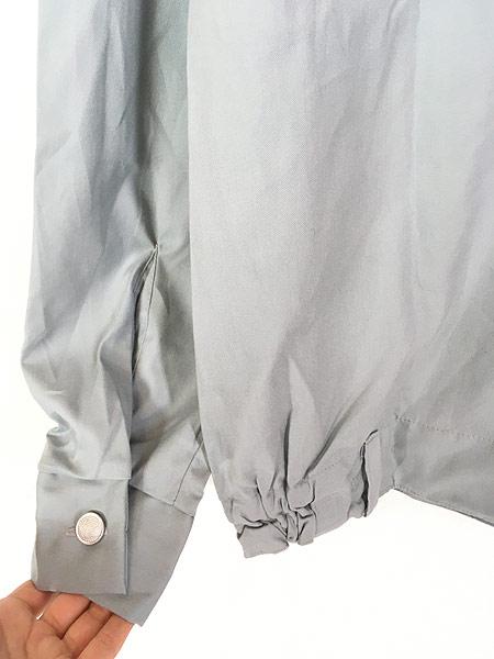 [5] 「Deadstock」 古着 80s 東ドイツ軍 NVA 人民海軍 ミリタリー グレー ドレス シャツ 40N 古着
