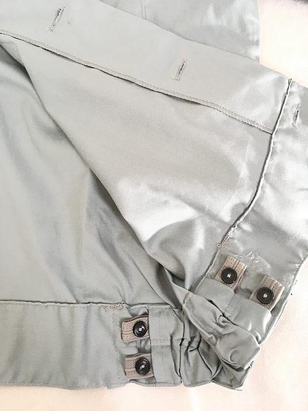 [6] 「Deadstock」 古着 80s 東ドイツ軍 NVA 人民海軍 ミリタリー グレー ドレス シャツ 40N 古着