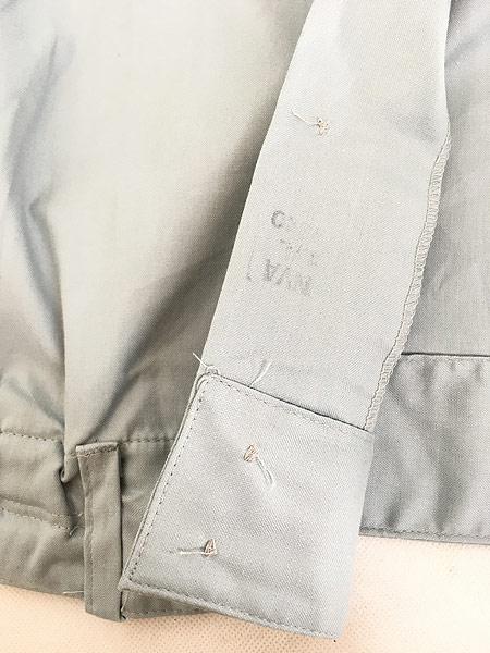 [7] 「Deadstock」 古着 80s 東ドイツ軍 NVA 人民海軍 ミリタリー グレー ドレス シャツ 40N 古着