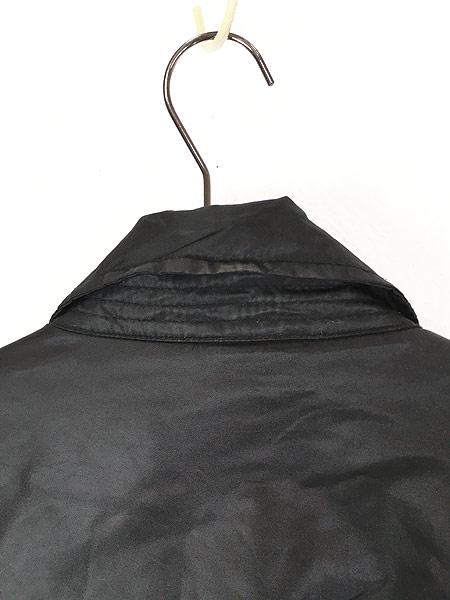 [6] 古着 ALPHA製 CWU 45/P ミリタリー パデット フライト ジャケット 黒 L 古着