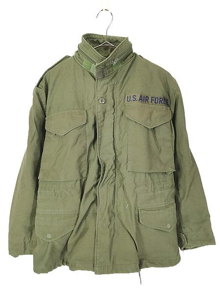 [1] 古着 80s 米軍 USAF M-65 ミリタリー フィールド ジャケット 超貴重 XS-XS!! 古着