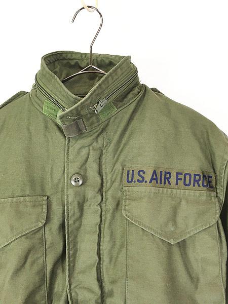 [2] 古着 80s 米軍 USAF M-65 ミリタリー フィールド ジャケット 超貴重 XS-XS!! 古着