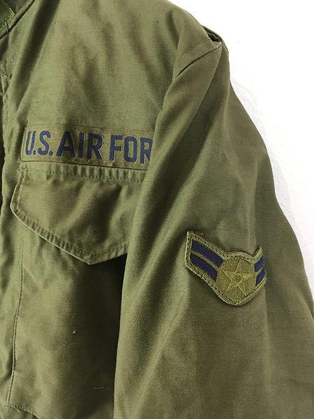 [3] 古着 80s 米軍 USAF M-65 ミリタリー フィールド ジャケット 超貴重 XS-XS!! 古着