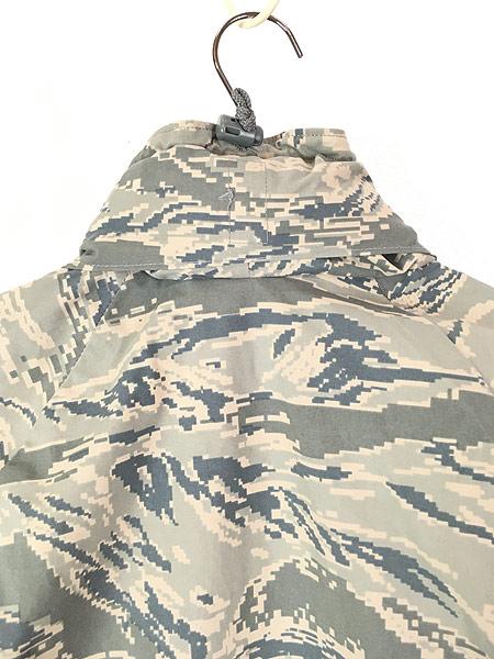 [6] 古着 00s 米軍 USAF タイガー ストライプ カモ 迷彩 GEN3 GORE-TEX ゴア パーカー APECS S-S!! 古着