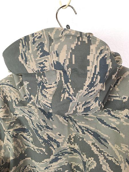 [7] 古着 00s 米軍 USAF タイガー ストライプ カモ 迷彩 GEN3 GORE-TEX ゴア パーカー APECS S-S!! 古着