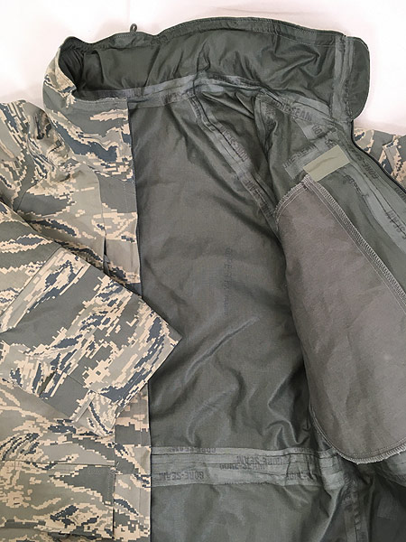 [8] 古着 00s 米軍 USAF タイガー ストライプ カモ 迷彩 GEN3 GORE-TEX ゴア パーカー APECS S-S!! 古着
