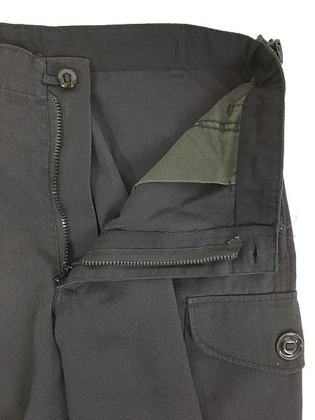 [7] 古着 Canada製 FRONTENAC ミリタリー タイプ コンバット カーゴ パンツ M 古着