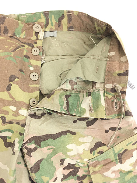 [7] 「Deadstock」 古着 00s 米軍 「Perimeter Insect Guard」 マルチカム カモ 迷彩 カーゴ パンツ S-R 古着