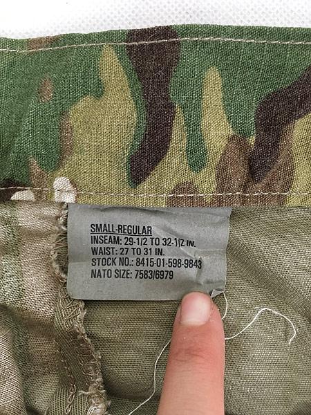 [8] 「Deadstock」 古着 00s 米軍 「Perimeter Insect Guard」 マルチカム カモ 迷彩 カーゴ パンツ S-R 古着