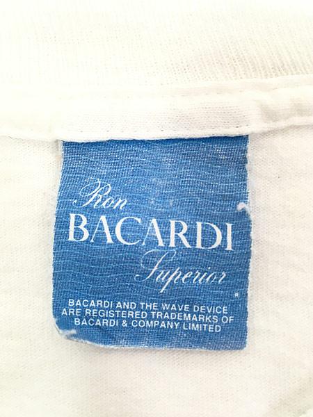 [7] 古着 90s USA製 BACARDI バカルディ ラム リキュール Tシャツ XL 古着