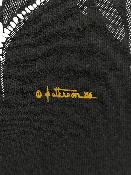 [6] 古着 90s USA製 STURGIS スタージス イーグル バイカー Tシャツ 黒 XL 古着