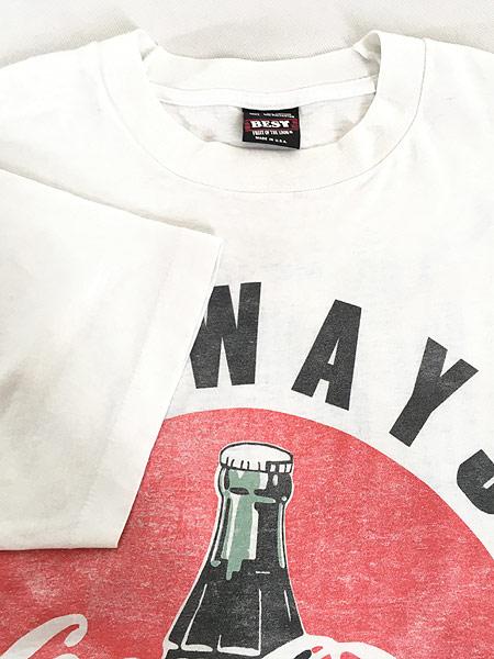 [5] 古着 90s USA製 Coca Cola コーラ BIG クラシック ロゴ Tシャツ XL 古着