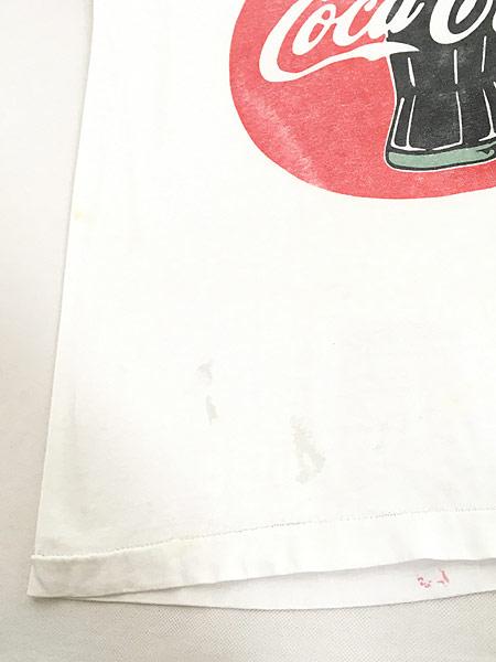 [6] 古着 90s USA製 Coca Cola コーラ BIG クラシック ロゴ Tシャツ XL 古着