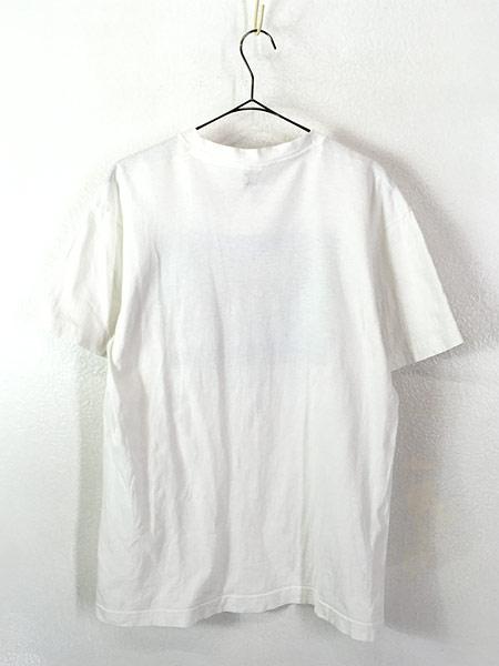 [3] 古着 90s USA製 「WHALE WATCH」 クジラ ポップ アート Tシャツ L 古着
