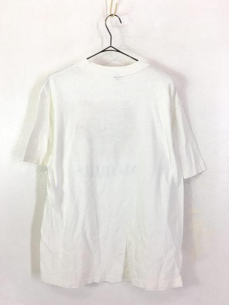 [3] 古着 80s MORRIS 猫 ネコ フォト ピクチャー アニマル Tシャツ XL 古着