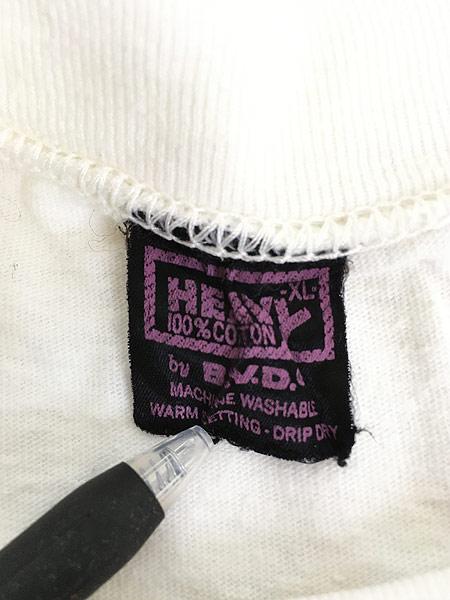 [5] 古着 80s MORRIS 猫 ネコ フォト ピクチャー アニマル Tシャツ XL 古着
