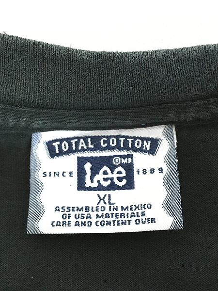 [5] 古着 90s 猫 ネコ アニマル シルエット Tシャツ 黒 XL 古着