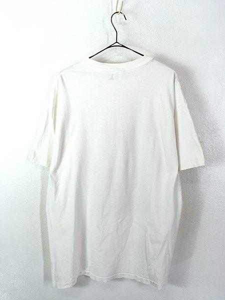 [3] 古着 90s USA製 DKNY 自由の女神 BIG フォト ピクチャー Tシャツ XL位 古着