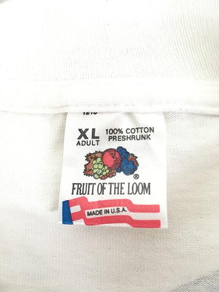[5] 古着 90s USA製 Marlboro F1 チェッカー フラッグ ポケット Tシャツ ポケT XL 古着�