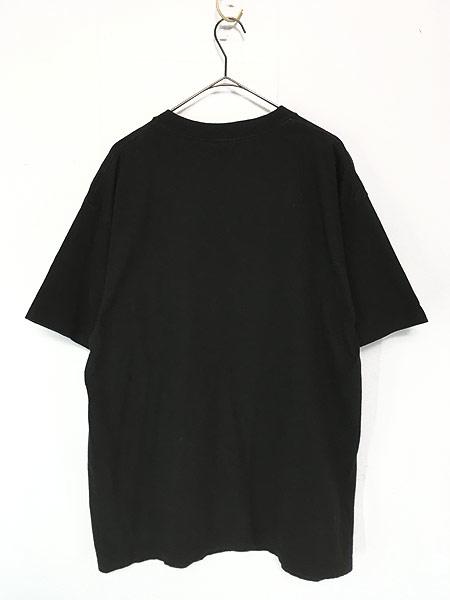 [2] 古着 90s USA製 Budweiser バドワイザー ビール ホッケー Tシャツ XL 古着