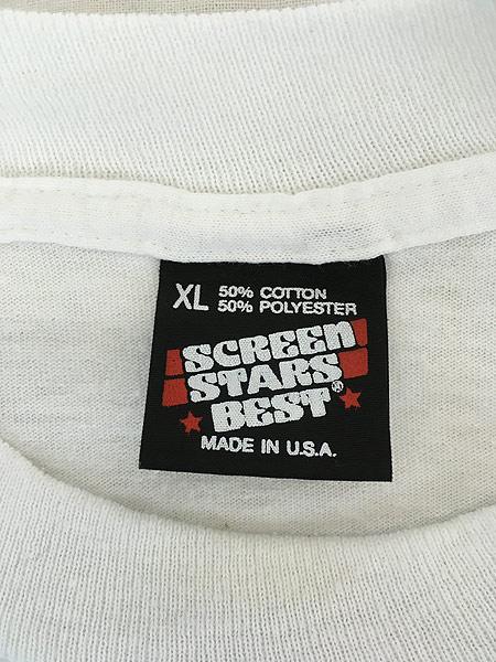 [5] 古着 90s USA製 Captain Morgan ラム リキュール アート Tシャツ XL 古着