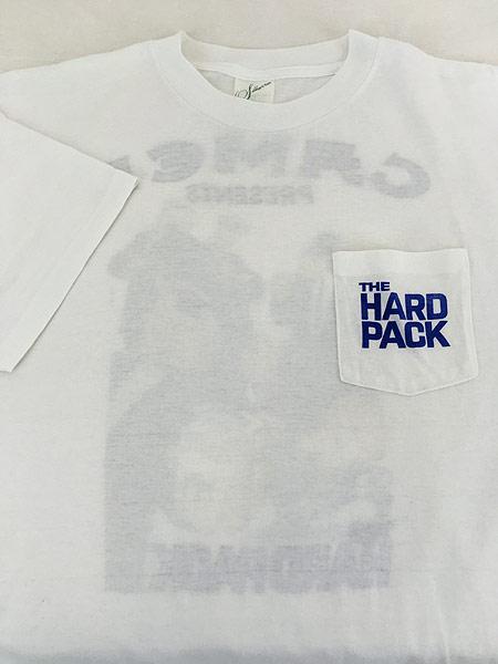 [3] 古着 90s USA製 CAMEL 「The Hard Pack」 キャメル ポケット Tシャツ ポケT XL 古着