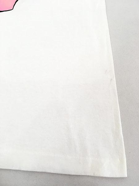 [5] 古着 90s USA製 ブタ ピッグ アニマル BIG Tシャツ XL 古着