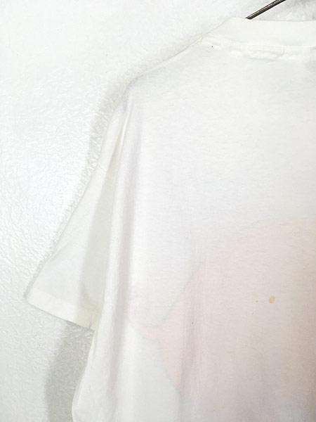[6] 古着 90s USA製 ブタ ピッグ アニマル BIG Tシャツ XL 古着