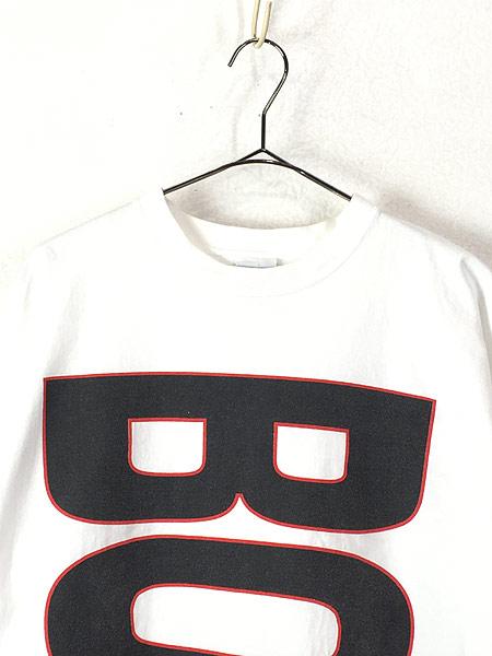 [2] 古着 90s USA製 BOSS BIG ロゴ プリント Tシャツ XL 古着