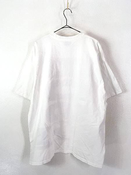 [3] 古着 90s USA製 BOSS BIG ロゴ プリント Tシャツ XL 古着