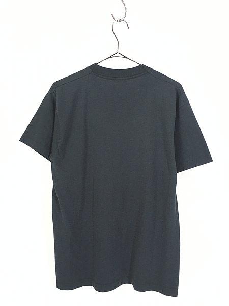 [3] 古着 80s Hard Rock Cafe 「NEW YORK」 BIGロゴ ハードロック Tシャツ L 古着