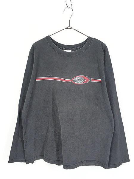 [1] 古着 90s USA製 Hard Rock Cafe 「Denver」 ハードロック ロング Tシャツ ロンT XL 古着