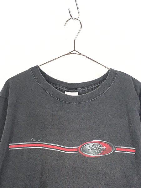 [2] 古着 90s USA製 Hard Rock Cafe 「Denver」 ハードロック ロング Tシャツ ロンT XL 古着