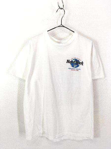 [1] 古着 90s USA製 Hard Rock Cafe 「Peter Gabriel」 シグネチャー ハードロック Tシャツ M 古着