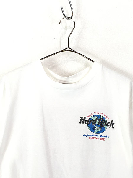 [2] 古着 90s USA製 Hard Rock Cafe 「Peter Gabriel」 シグネチャー ハードロック Tシャツ M 古着
