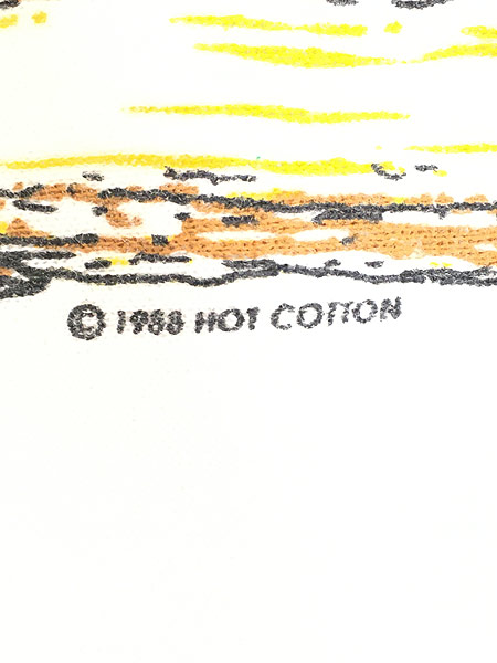 [7] 古着 80s トナカイ お風呂 ポップ アート スウェット トレーナー M位 古着