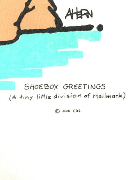 [6] 古着 90s USA製 Shoe Box 「Sex」 ウサギ ポップ アート メッセージ Tシャツ L 古着